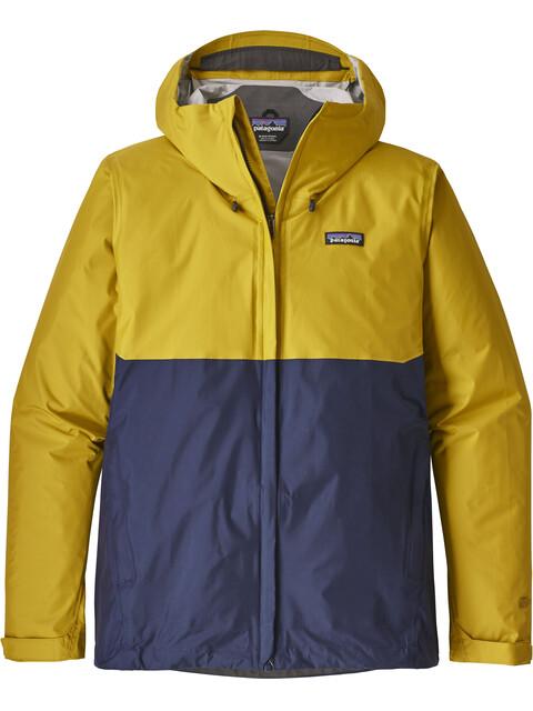 Patagonia Torrentshell Jacket Men yellow/blue